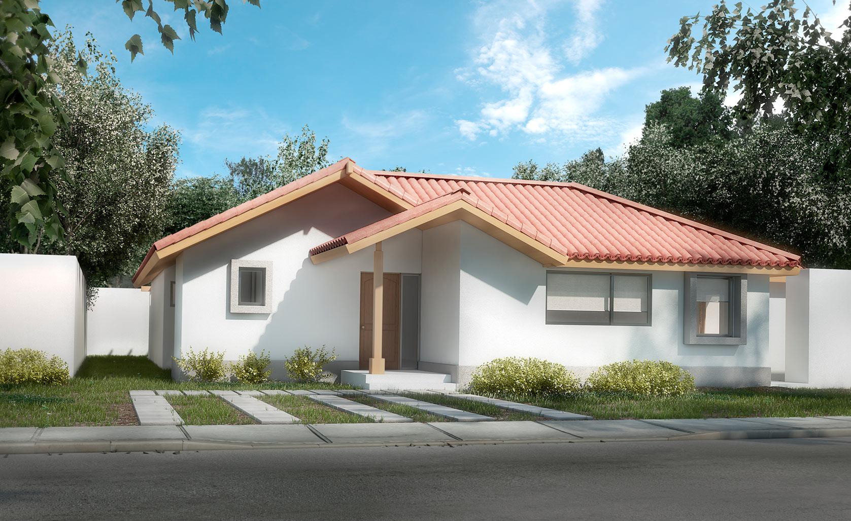 El polo de machal emol propiedades for Casa moderna 140 m2