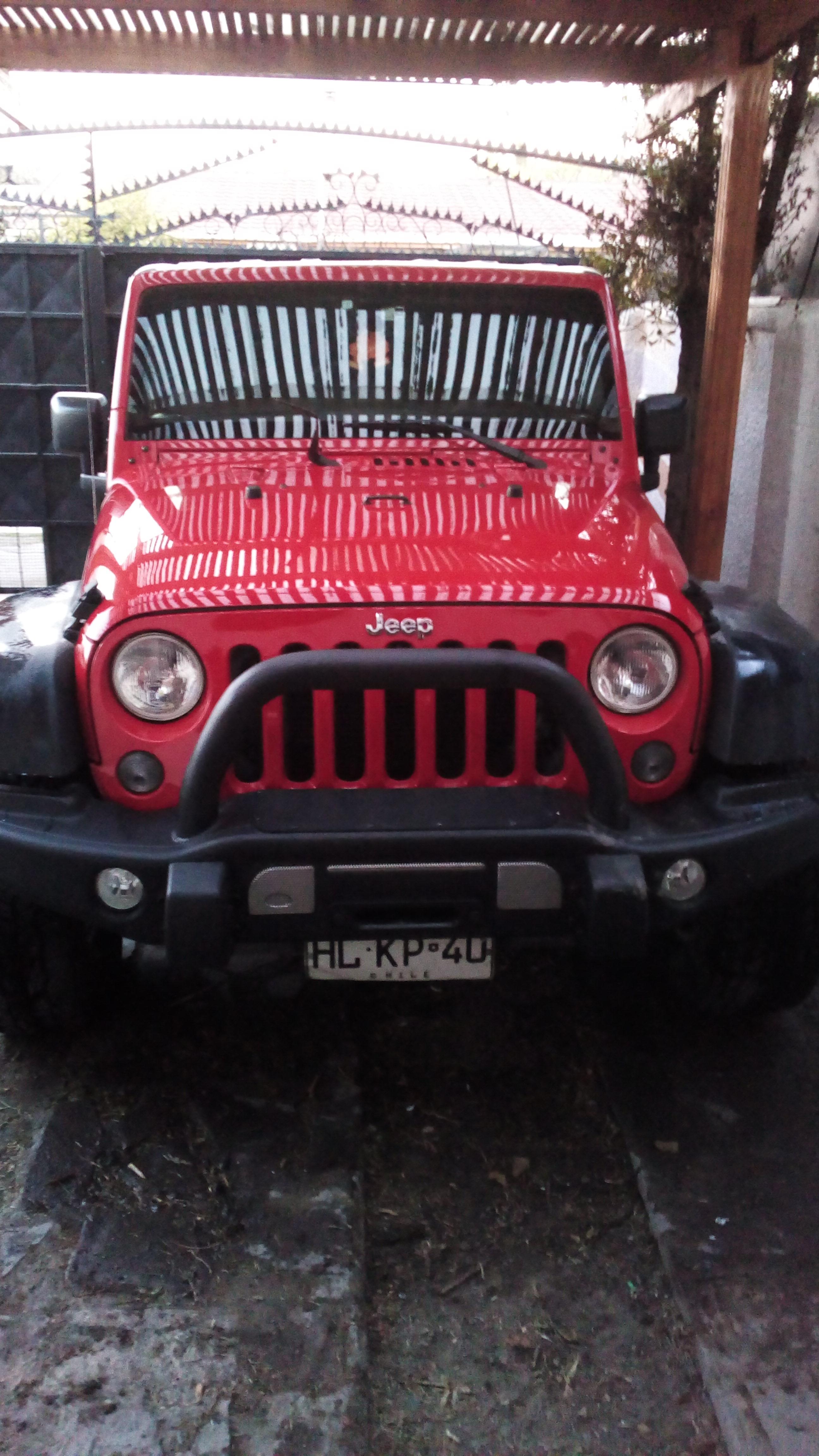 Jeep Wrangler unlimite 3.6 año 2016
