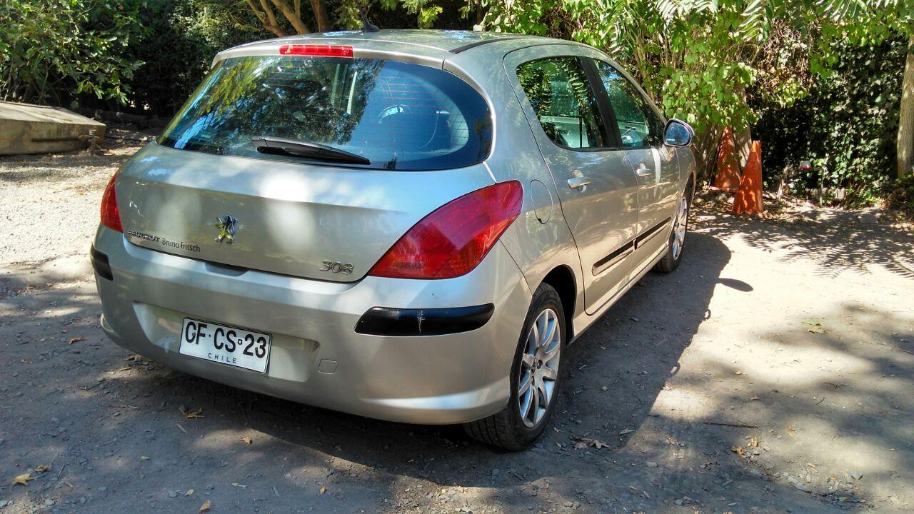 Peugeot 308 Confort Pack 1.6 año 2010