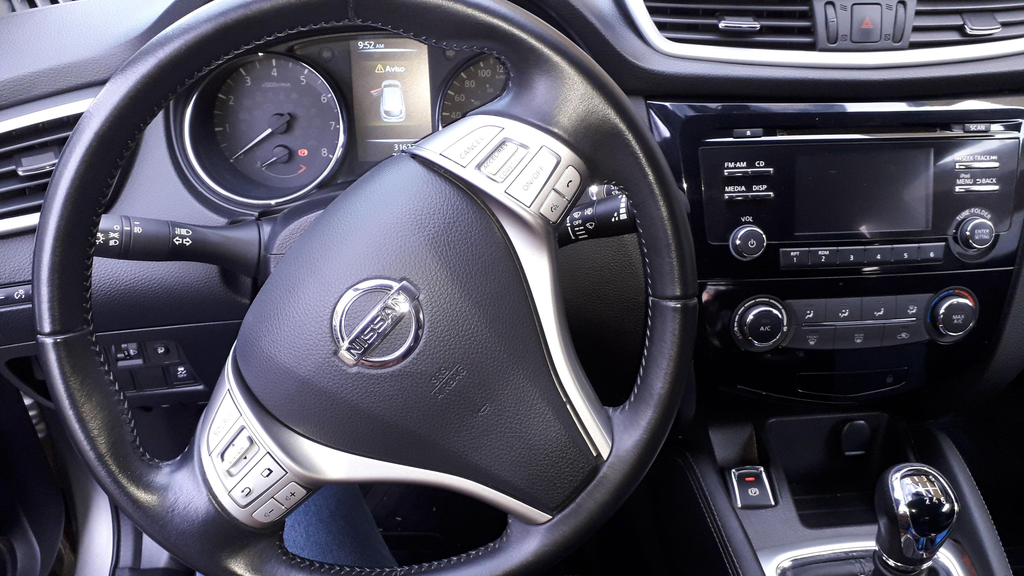 Nissan Qashqai Advance 2.0 año 2017